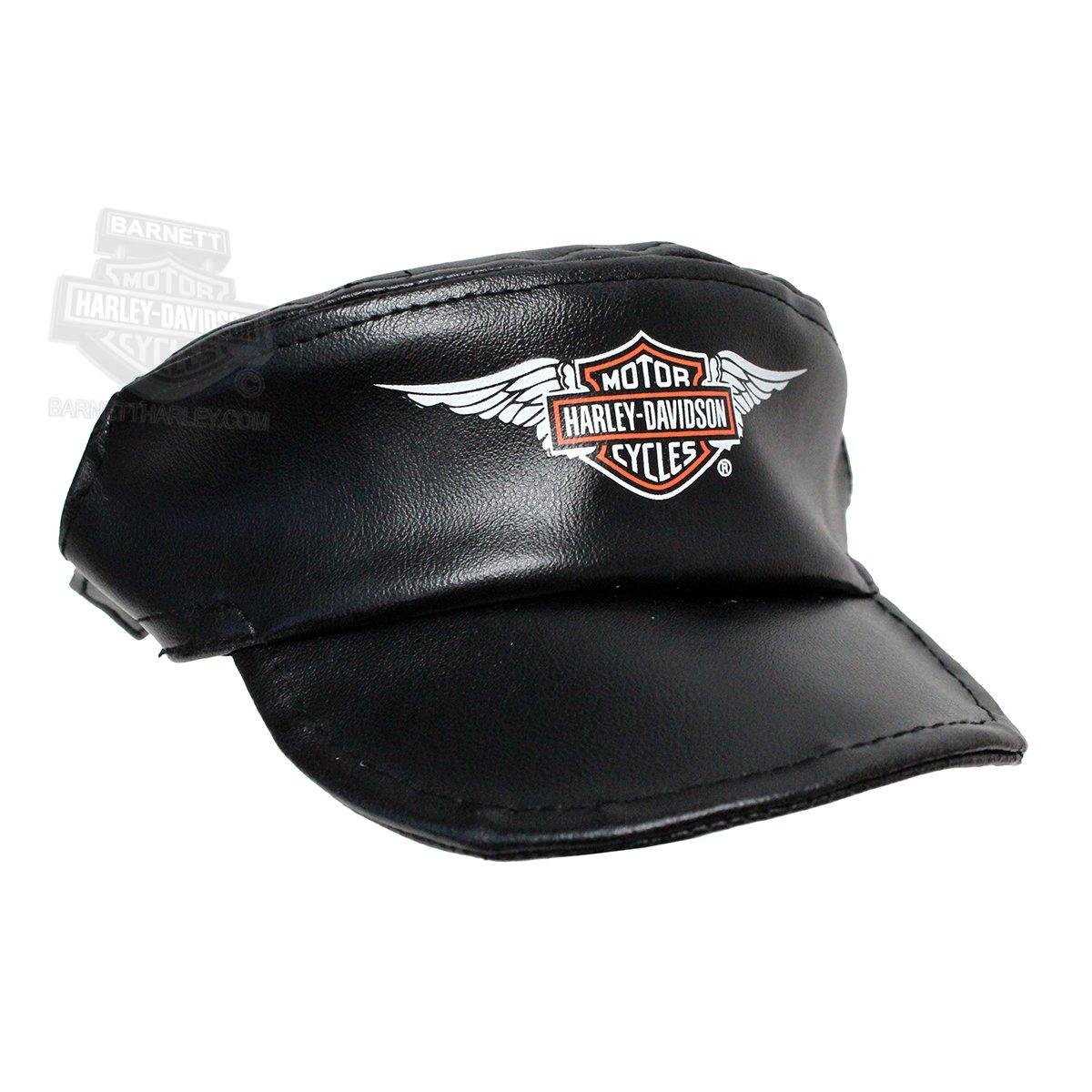 Harley-Davidson Pet Cap Black Vinyl - SM