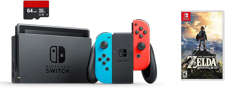 Amazon.com: Nintendo Swtich 3 Items Bundle: Nintendo ...