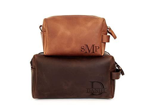 Father/'s Day Leather Bags Vintage Bag Free Personalization Handcrafted Personalized Premium Custom Leather Overnight Bag- Leather Gifts