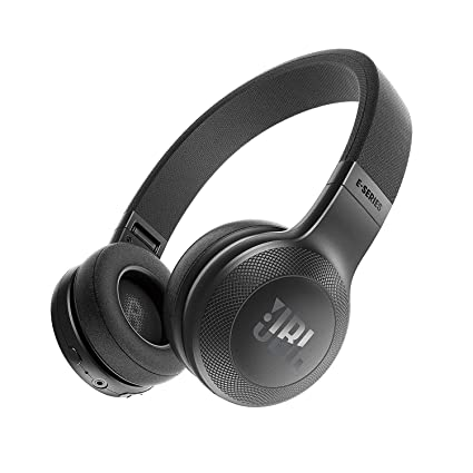 d039cac292c Amazon.com: JBL Bluetooth Wireless On-Ear Headphones with One-Button Remote  and Microphone, Black (Renewed): Electronics