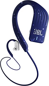 Amazon Com Jbl Endurance Sprint Wireless Headphones Bluetooth Sport Earphones With Microphone Waterproof Up To 8 Hours Battery And Quick Charge Works With Android And Apple Ios Blue Electronics
