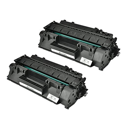 Selectec Compatible Toner Cartridge Replacement for HP CE50 (Black , 2-Pack)