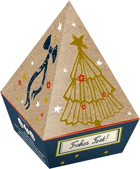 Caja Regalo Pirámide con 6 Bolsas de TE Navidades Sabor ...