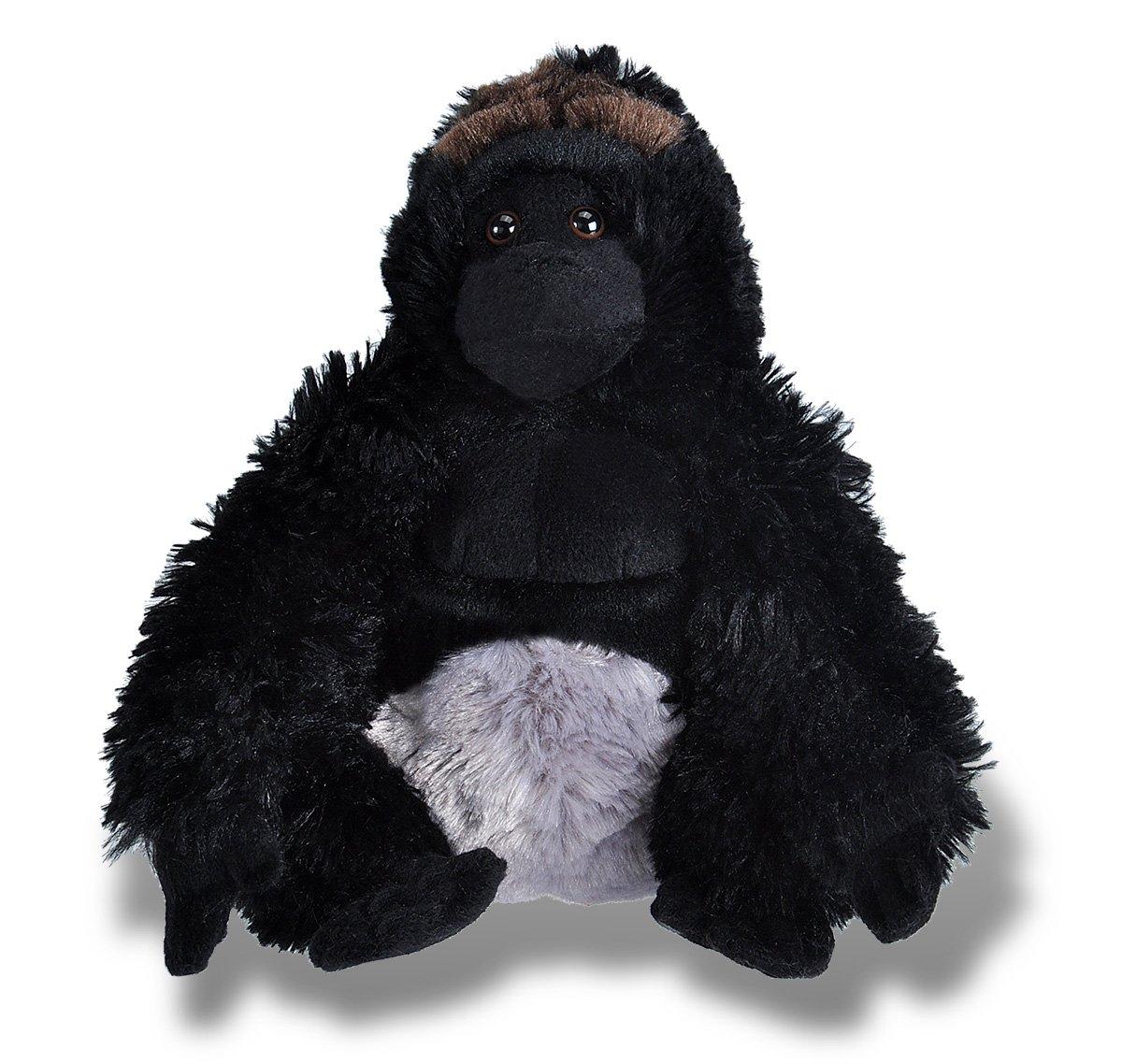 Wild Republic-10929 Peluche Gorila Cuddlekins 10929 Color Negro