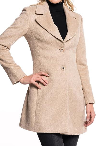 Kocca - Cappotto - trench - Donna Beige XL  Amazon.it  Abbigliamento 214e9b9f930