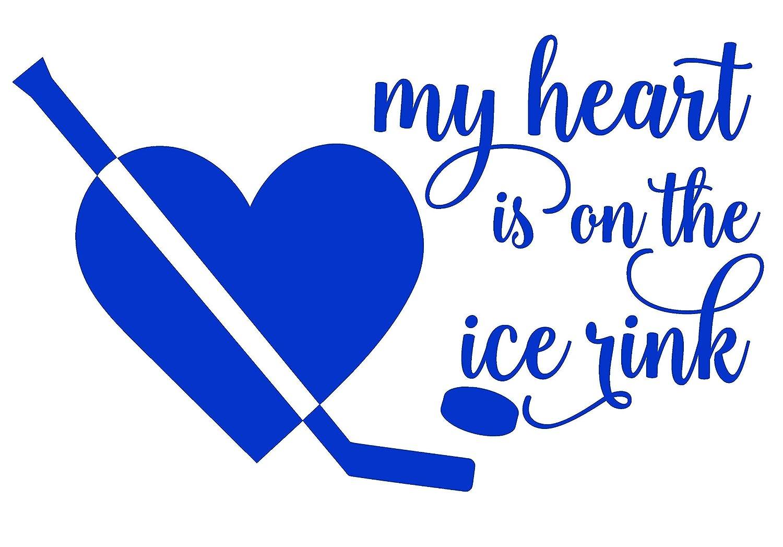 HOCKEY MOM and  DAD vinyl sticker FAMILY ICE League Team Sport Club