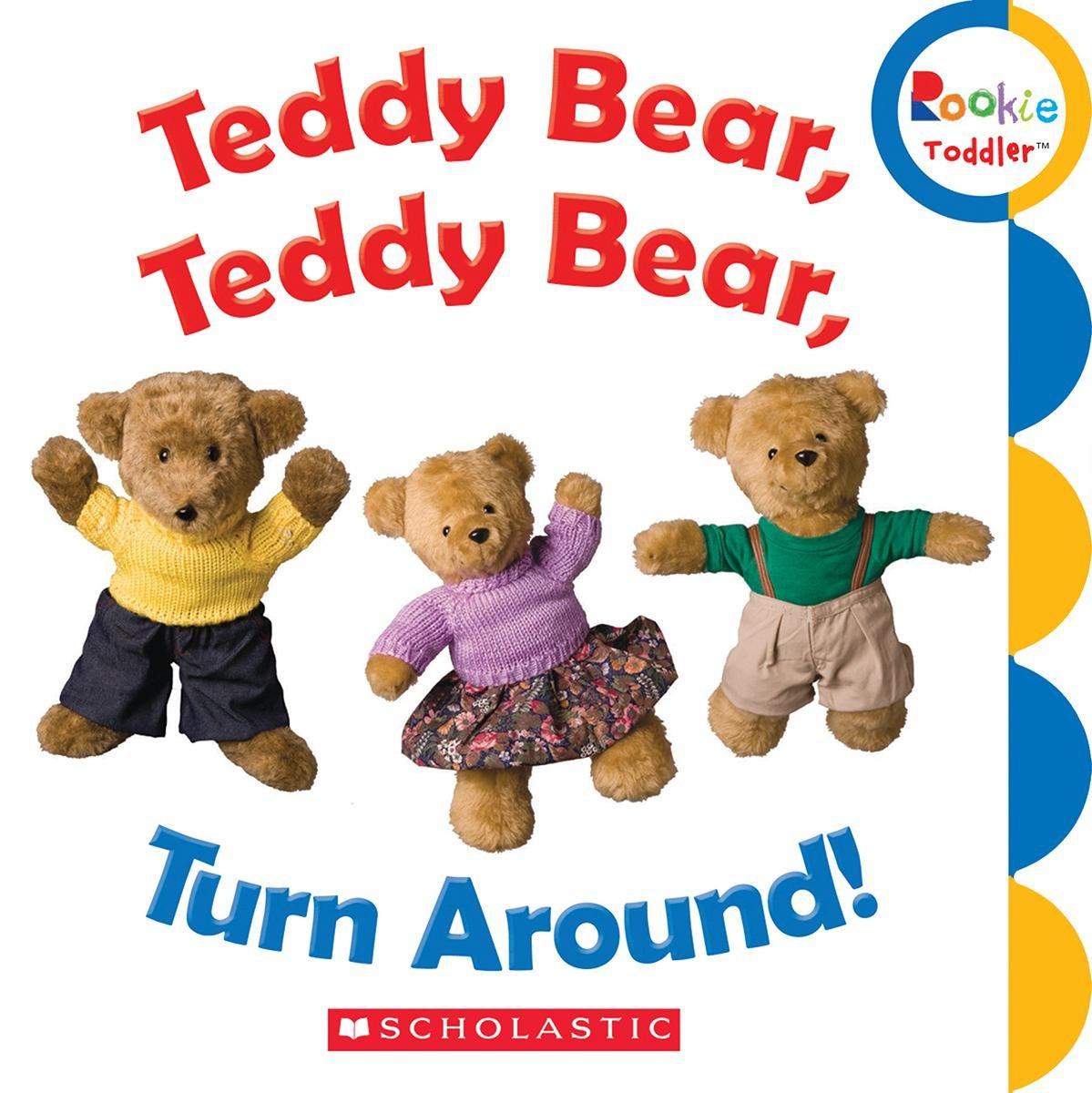 Amazon.com: Teddy Bear, Teddy Bear, Turn Around! (Rookie Toddler ...