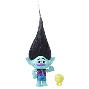 DreamWorks Trolls Branch Collectible Figure with Critter, color may vary