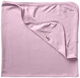 L\'ovedbaby Unisex-Baby Newborn Organic Swaddling Blanket, Lavender, one size
