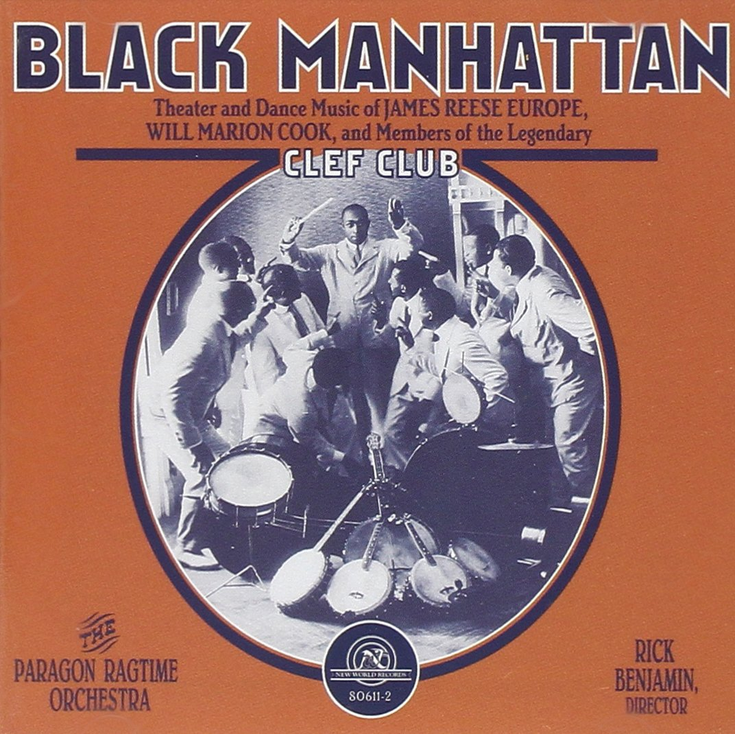 Black Manhattan: Members of Legendary Clef Club by Ballin