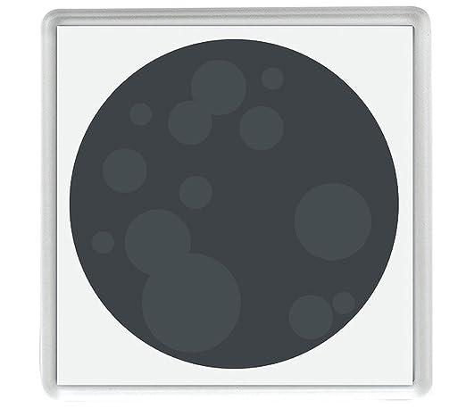 IamEngland Luna Nueva signatura Emoji 58mm x 58mm Nevera imán/New ...
