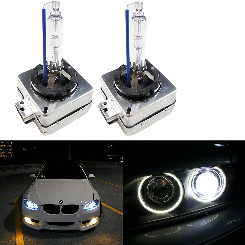 D1S D1R D1C 6000K White OEM HID Headlight Replacement Light Bulb One Pair