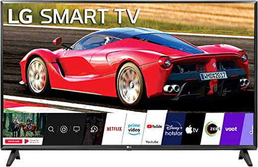 32 inches LG HD Ready Smart LED TV 32LM563BPTC Dark Iron Gray (2020 Model)