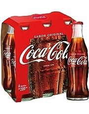 Coca-Cola - Regular, Refresco con gas de cola, 200 ml, Botella de cristal