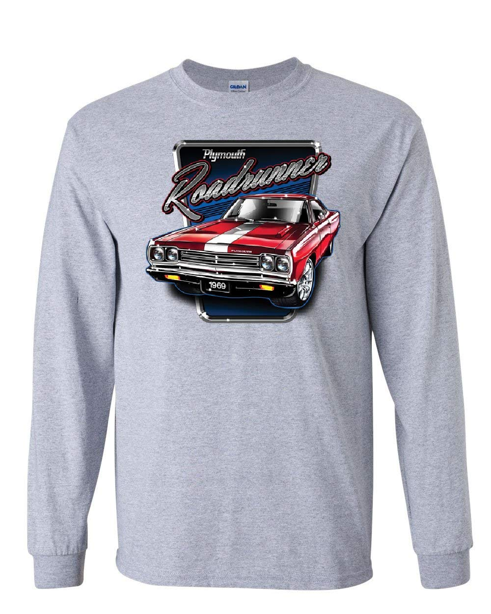 Plymouth Roadrunner T Shirt American Muscle Car Classic Route 6 3803