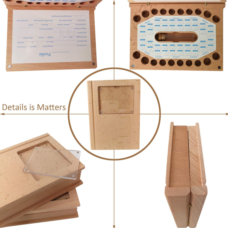 Baby Tooth Fairy Box Tooth Keepsake Box for Kids