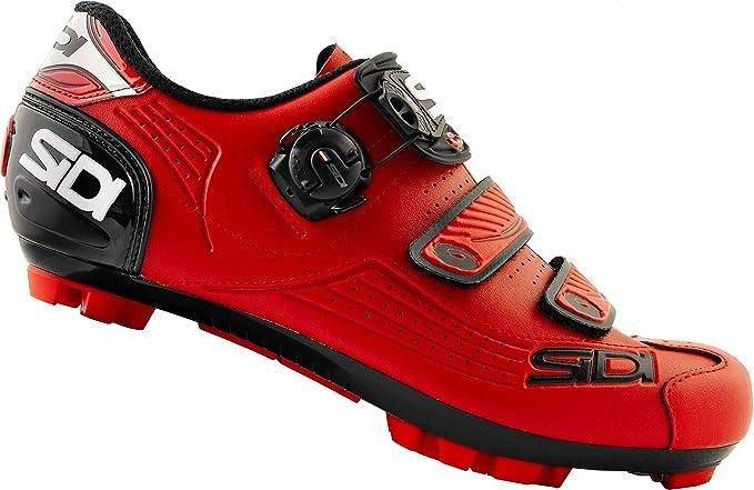 Sidi MTB Trace 2019 - Zapatillas de Ciclismo, Color Rojo, Total Red, 43 EU: Amazon.es: Deportes y aire libre