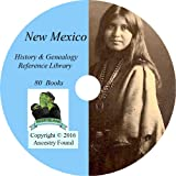 NEW MEXICO History & Genealogy on DVD - 80 books, Ancestry, Records, Family