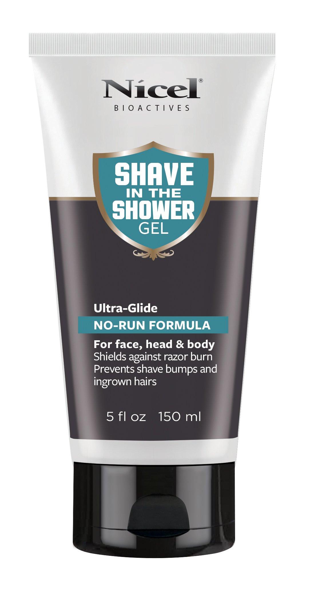 Nicel Men's Shave in the Shower Gel, 5 oz.