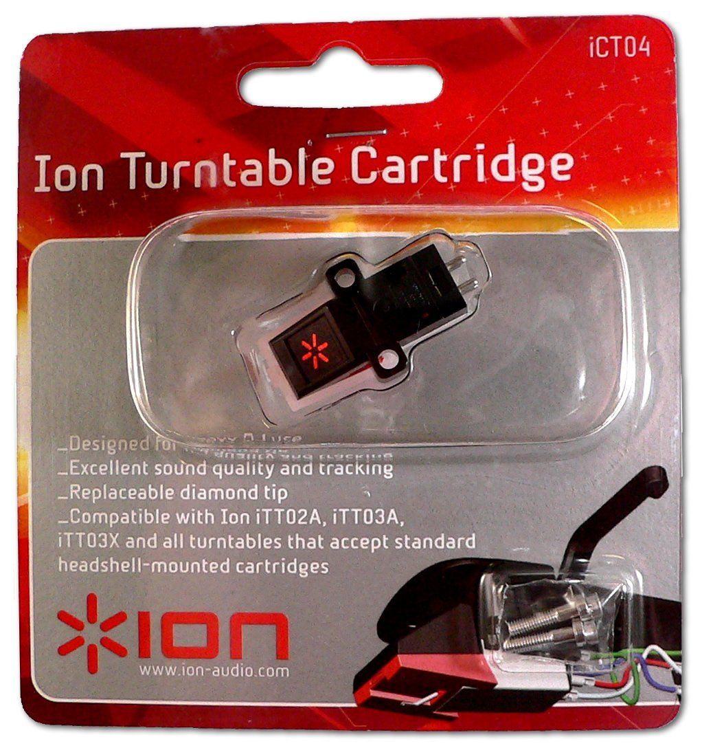 Turntable Cartridge Replacement Ion ION IHP03