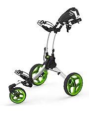 2016 Clicgear Rovic RV1S 3 Roues Tirez / Poussez Golf Chariot / Panier