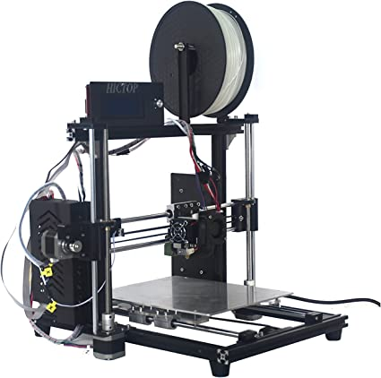 HICTOP Imprimante 3D 2 pi/è ces en aluminium GT2 20T Poulies et 2 m/è tres Ceinture 6mm pour CNC Reprap Prusa i3 Belt-001