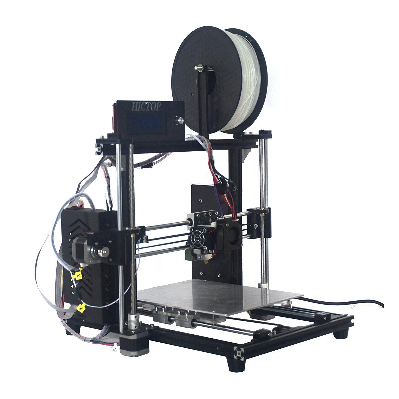 HICTOP Impresora 3D Prusa I3 Kit de bricolaje Nivelació n automá tica 270 x 210 x 180 Tamañ o de impresió n 【Filamento No incluido】