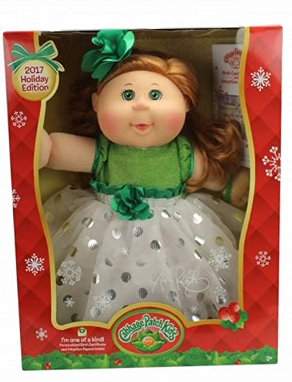 Amazon 2017 Holiday Edition Cabbage Patch Doll Strawberry