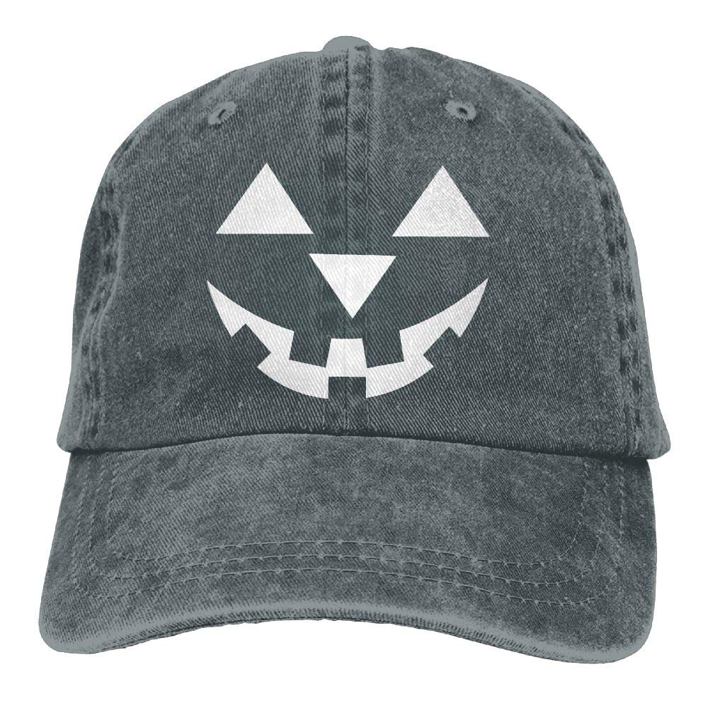 wuhgjkuo Pumpkin Face Dad Hat Trucker Hat Adjustable Baseball Cap