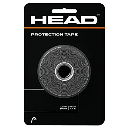 HEAD Racket Protection Tape - Racquet Guard - 16 Roll, Black