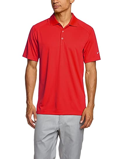 52ff0dfaee3a Nike Men s Golf Dri-fit Victory Polo Red 818050 657 ...