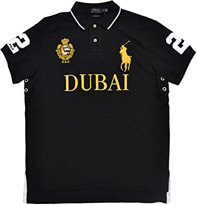 Polo Ralph Lauren Camiseta Polo Hombre Custom Slim Fit Dubai XS ...