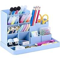POPRUN Niños Portalápices,organizador de escritorio para lápices, organizador de bolígrafos,cajitas de almacenamiento…
