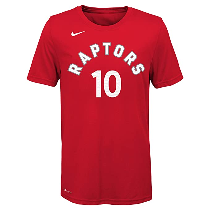 Nike NBA Toronto Raptors Demar DeRozan 10 2017 2018 Icon Edition Jersey Official Name & Number