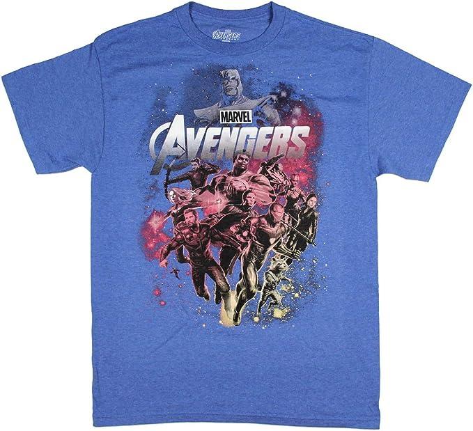 Marvel Logo Characters T T-Shirt Gar/çon