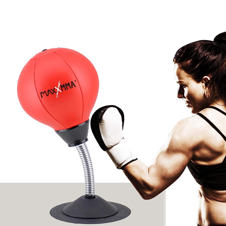 MaxxMMA Two-Way Stress Buster Desktop Punching Ball