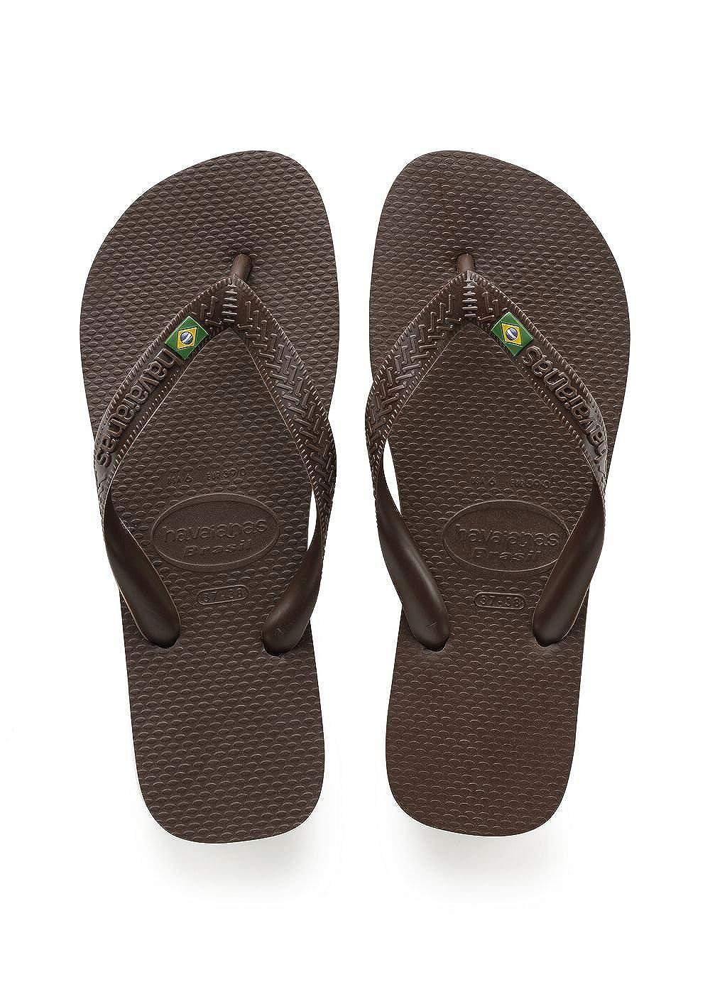 Havaianas Brasil, Chanclas para Unisex Adulto, Marrón (Dark Brown), 35/36 EU (33/34 Brazilian) Soonproject gmbH i.G. 4000032 flip flops flip-flops