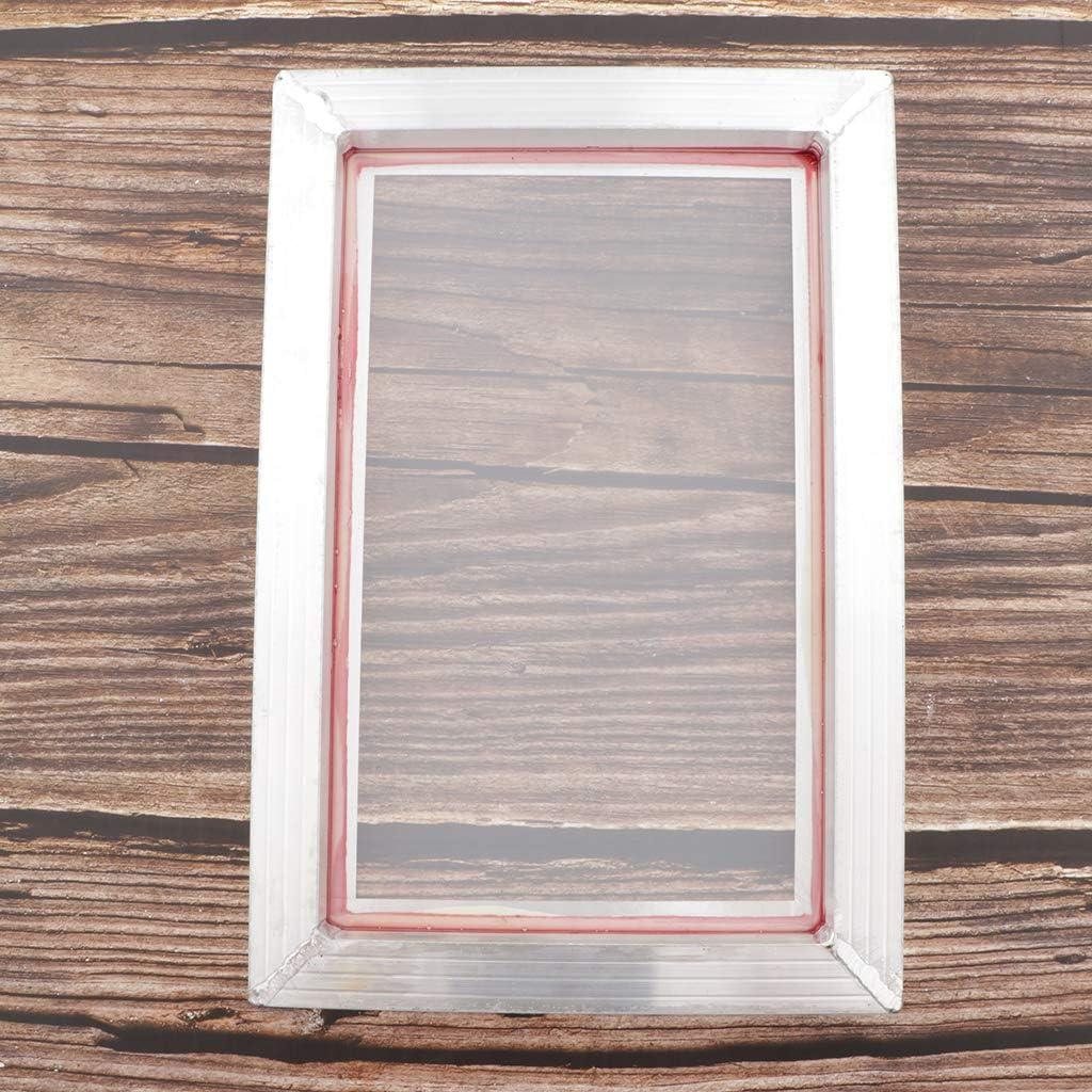 H HILABEE Siebdruckrahmen Siebdruckgewebe F/ür Leiterplatte 43T 20x30cm