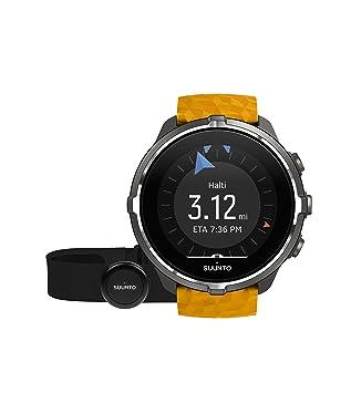 Suunto - Spartan Sport Wrist HR Baro - SS050002000 - Reloj GPS para Atletas Multideporte + Cinturón Frecuencia Cardiaca - Ámbar - Talla Única: Amazon.es: ...