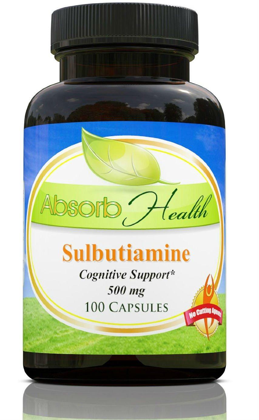 Sulbutiamine   Nootropic   500 mg  100 Capsules   Best Price on Net!