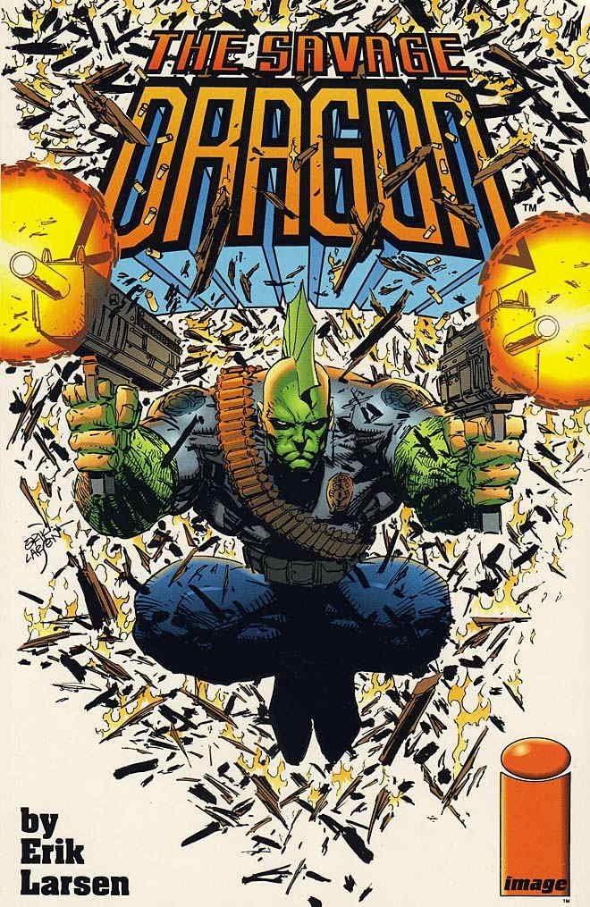 Savage Dragon 1993 series # 5 fine comic book