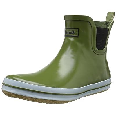 Kamik Women's Sharon Ankle-High Rain Boot   Rain Footwear