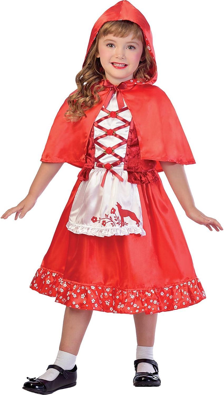 amscan Disfraz de Caperucita roja para niña - Día de Disfraces ...