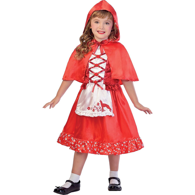 achat Amscan Déguisement Fille Petit Chaperon Rouge Cape Littérature Carnaval pas cher prix