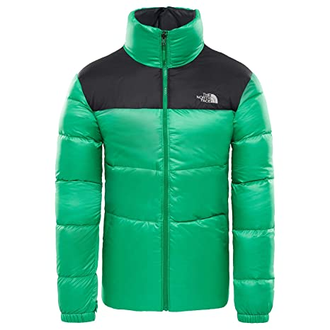 The North Face M Nuptse Iii Jacket Primary Green/Tnf Black XXL