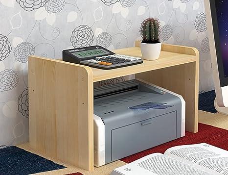 Amazon.com: whthteey 2 pisos de madera máquina de impresora ...
