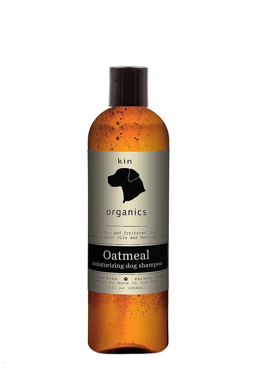 Kin Organics Oatmeal Organic Dog Shampoo, 12 oz