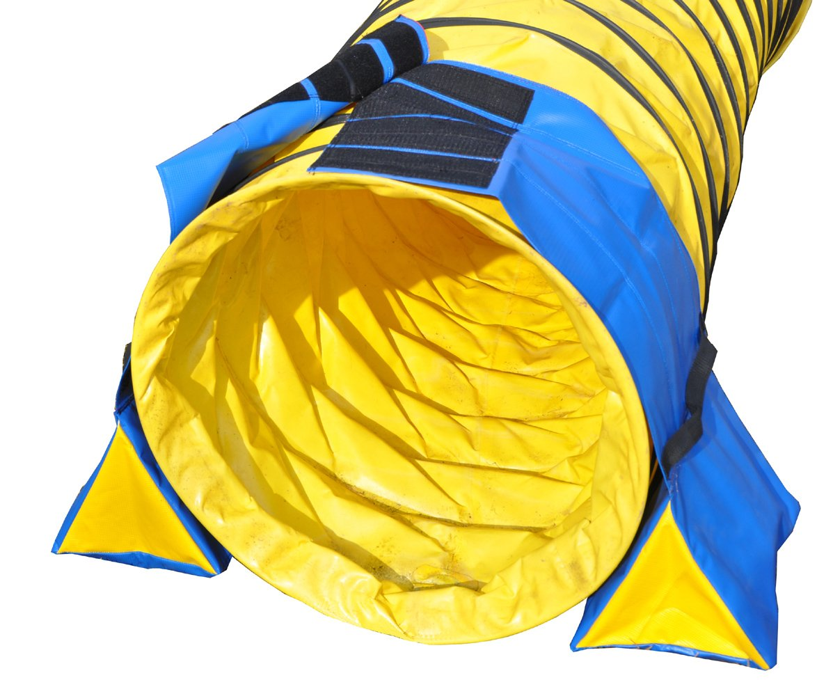 Cool Runners 2Piece Pro Grip PVC Tunnel Bags with Textured PVC Base for Multi Surface Gripping by Cool Runners