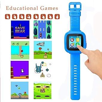 Amazon.com: Reloj inteligente para niños, reloj de juego ...