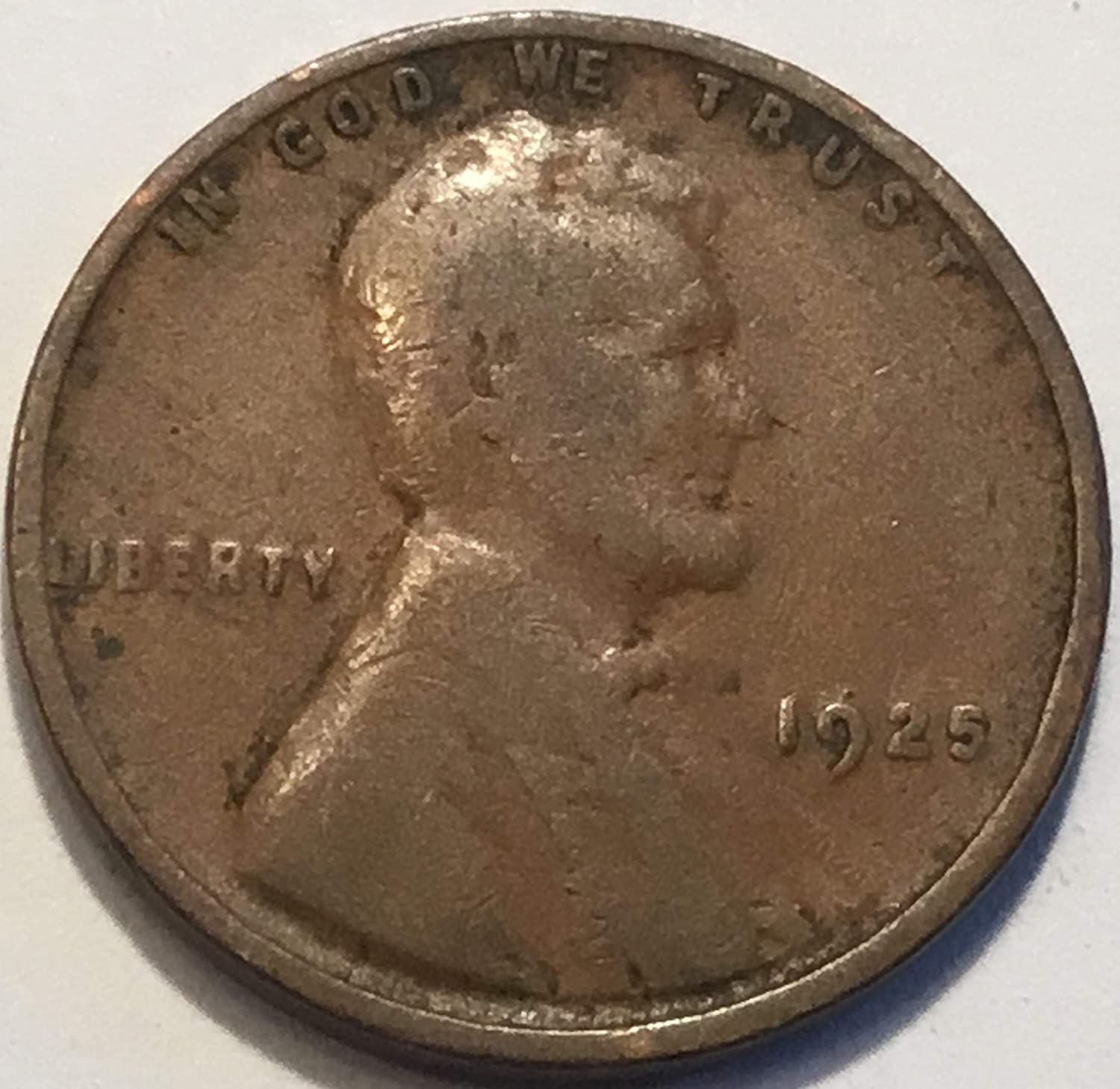 1920 D 1c Lincoln Wheat Cent Penny US Coin XF EF Extremely Fine